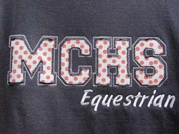 MCHS Applique